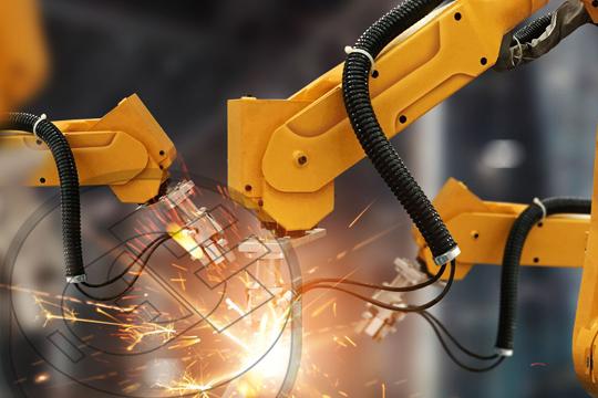 Robot automatization procesos manufactura