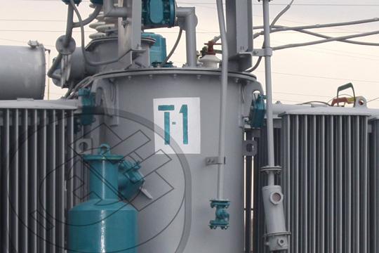 Subestacion electrica industrial