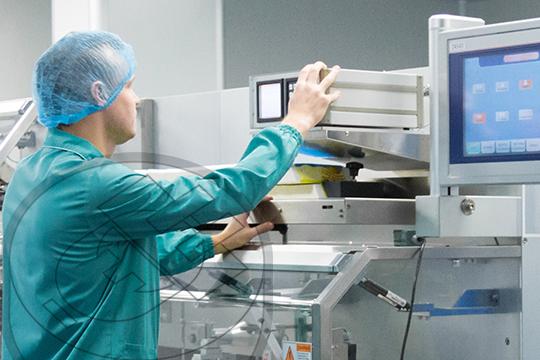 Equipo Farmaceutico electrónico sensible