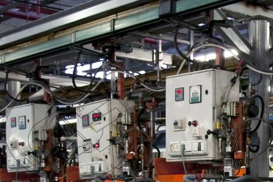 equipos utilizados en procesos de automatización en industria