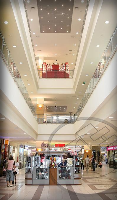 Sistemas de Iluminación y Aire Acondicionado en Centros Comerciales
