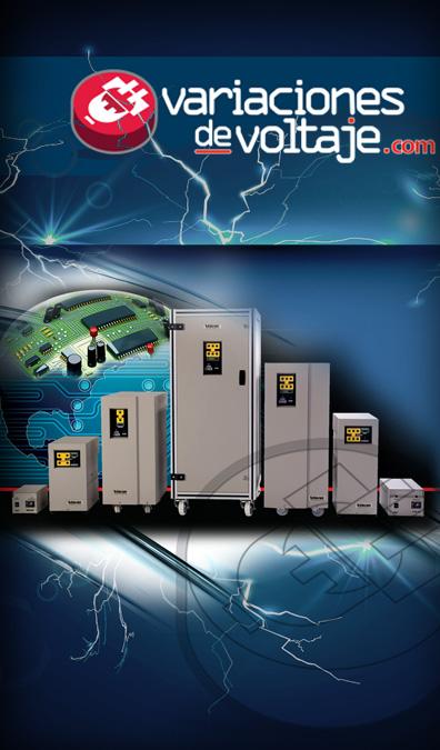 Acondicionadores Electronicos de Linea  Voltaje VOGAR