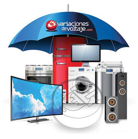 Protección eléctrica a equipos en el hogar, casa, residencia