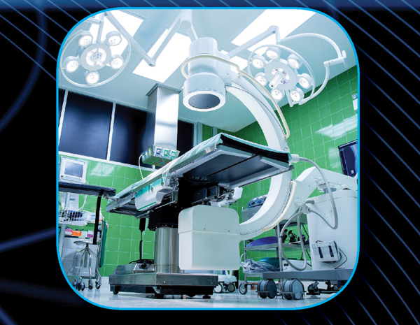 electro protección a equipo médico en hospitales