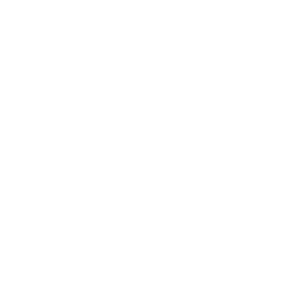 White Facebook logo, link to FB page