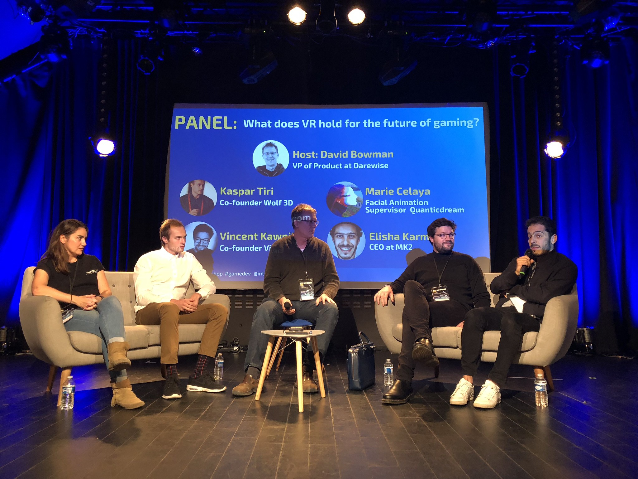Speakers at the Paris Intel Buzz Workshop