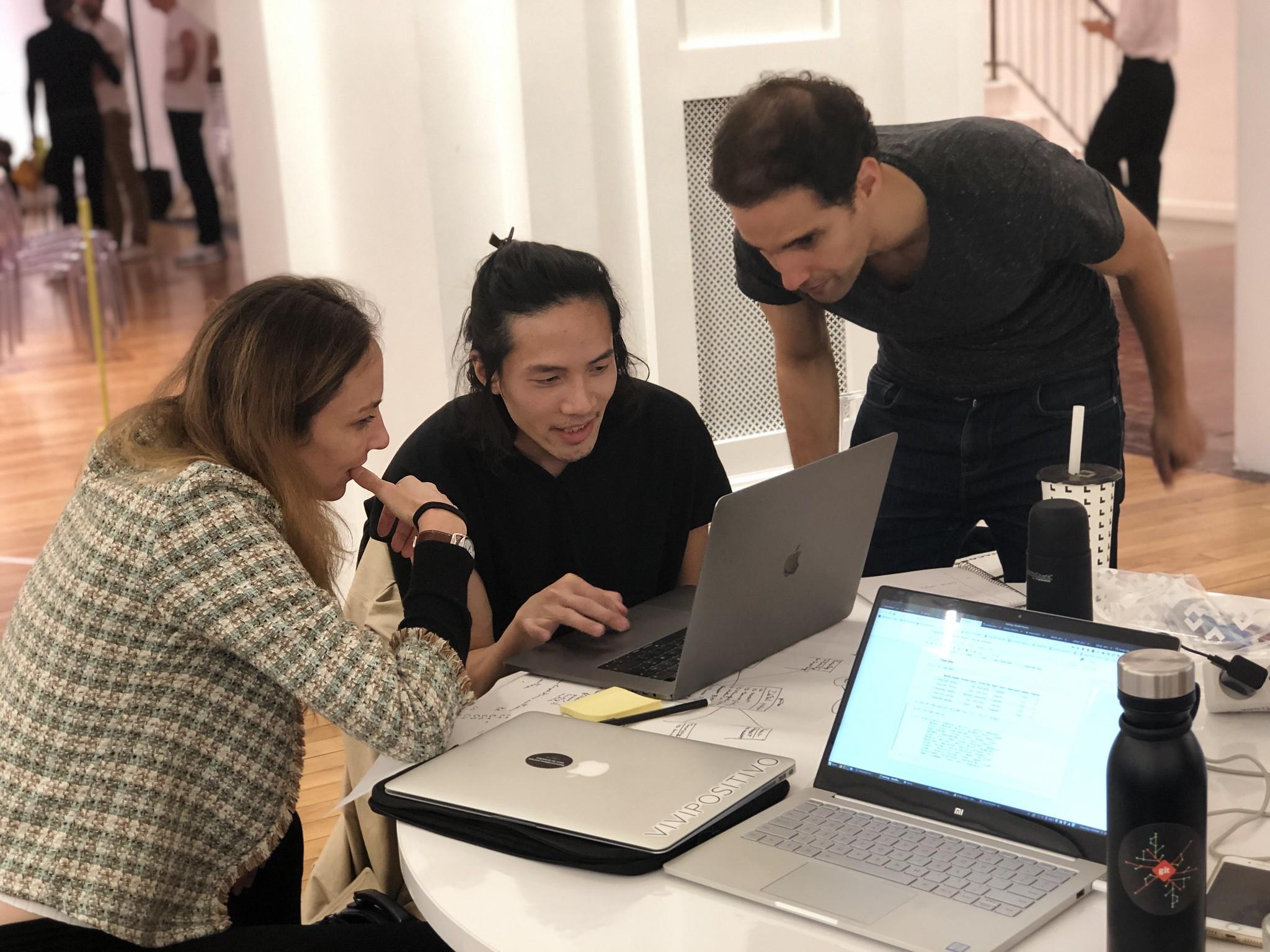 Hack to Act hackathon participants