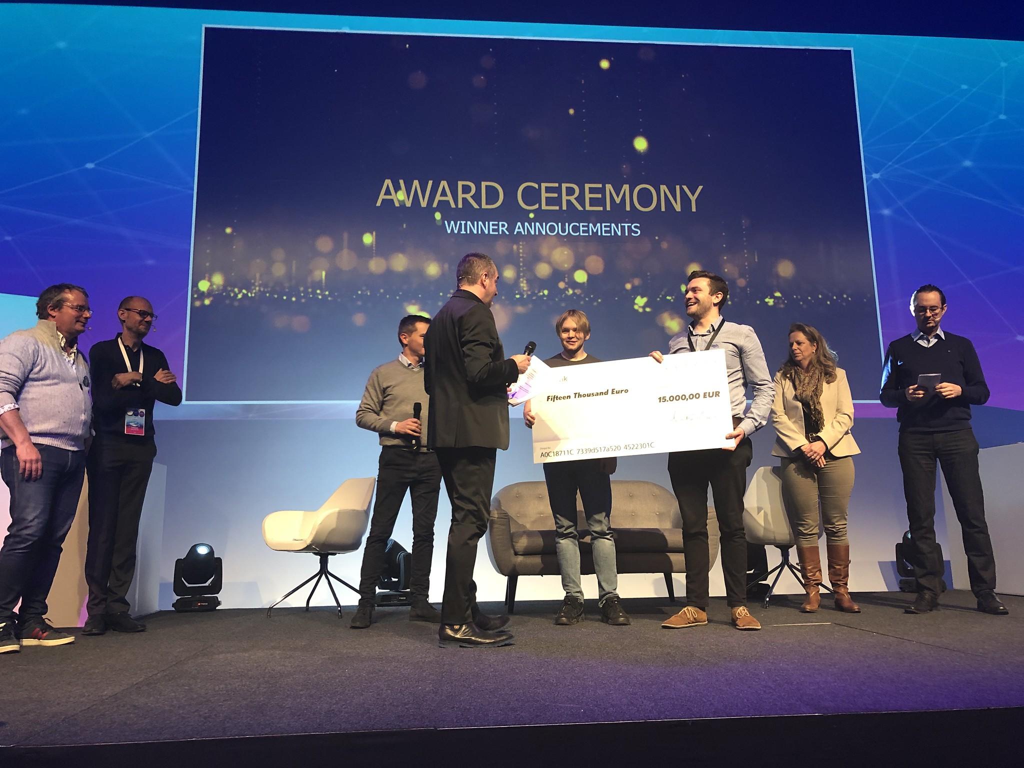 Hackathon Awards Ceremony at HackDays 2019