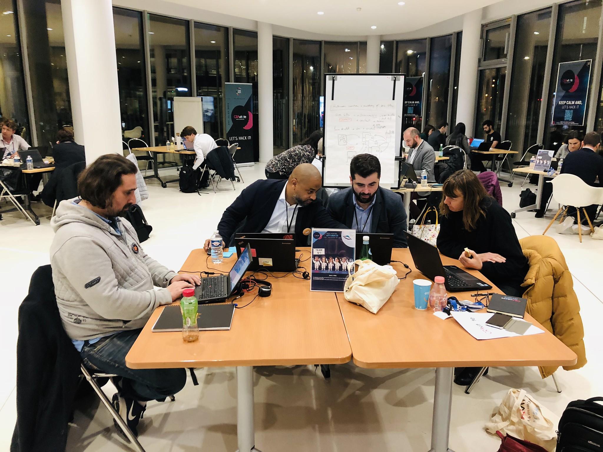 Sanofi Gravity Hackathon Participants