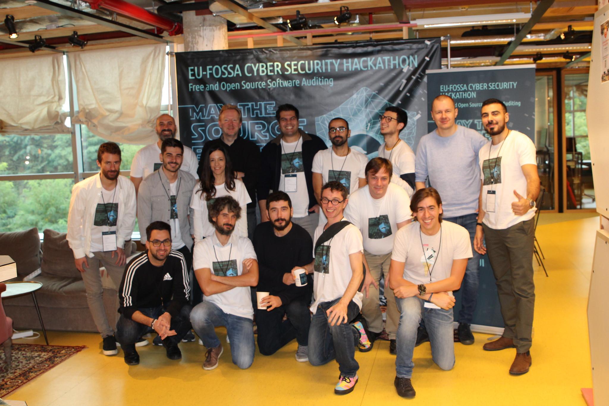 EU FOSSA 2 Hackathon Team