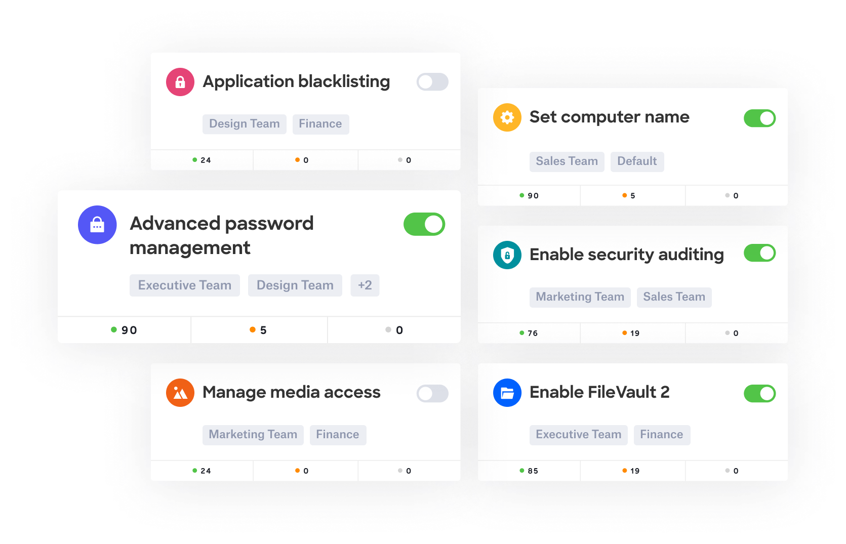 Kandji Apple device management (MDM) security and compliance