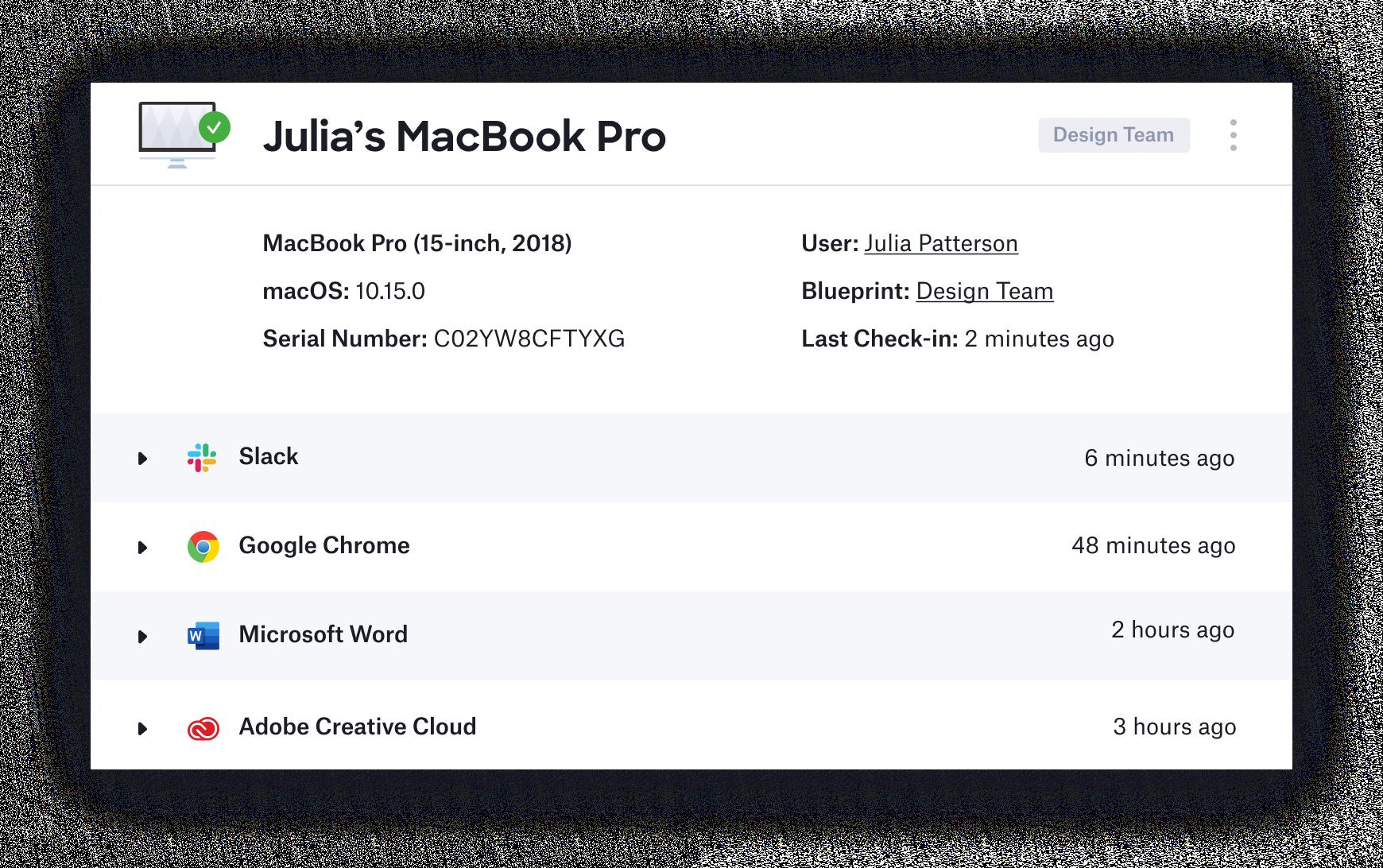 Kandji Apple MDM mac patch management app distribution