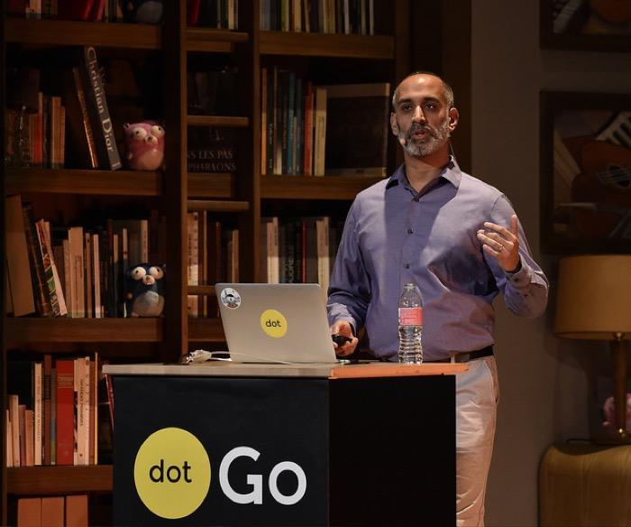 Sameer Ajmani Speaking at dot go conference