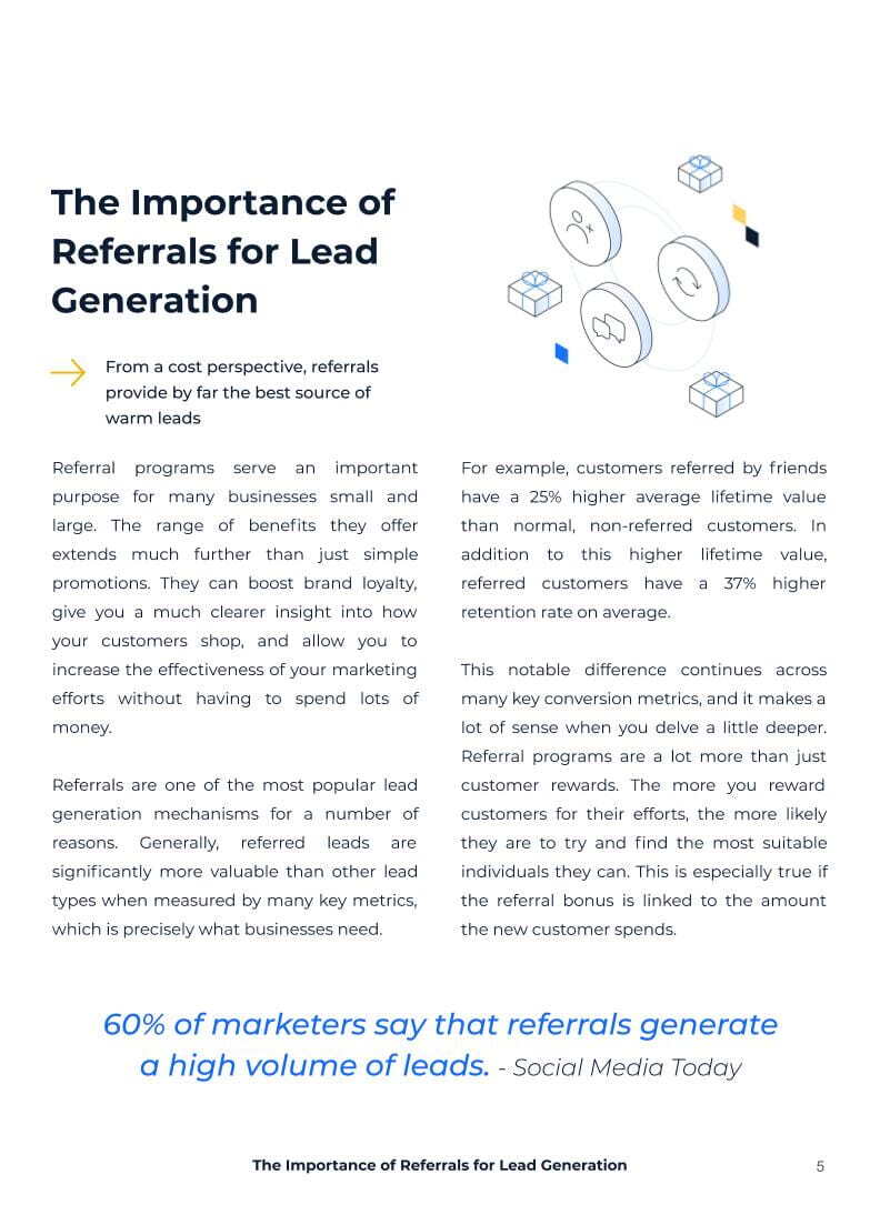 What you'll learn from our referral White Paper: