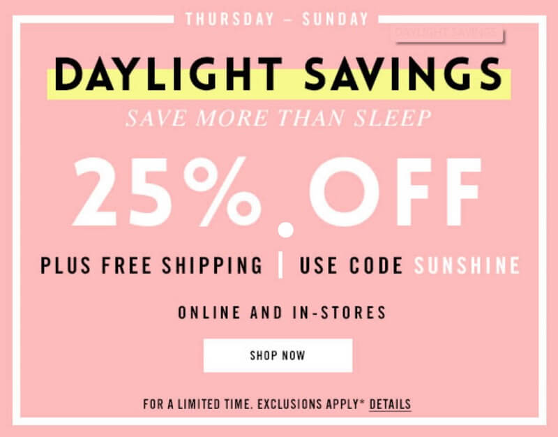 Coupon design with time restriction