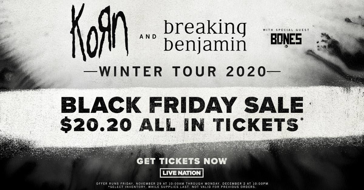 Live Nation Talon.One Black Friday tickets