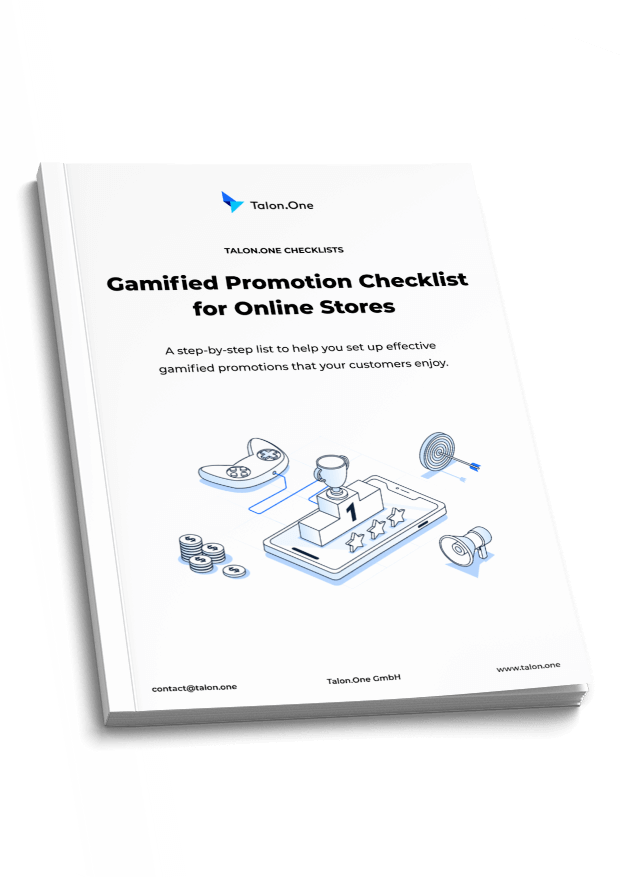 Gamified Promotion Checklist for Online Stores