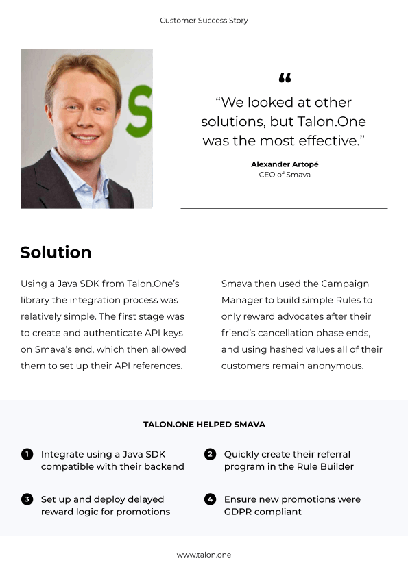 What you'll learn from the Smava case study: