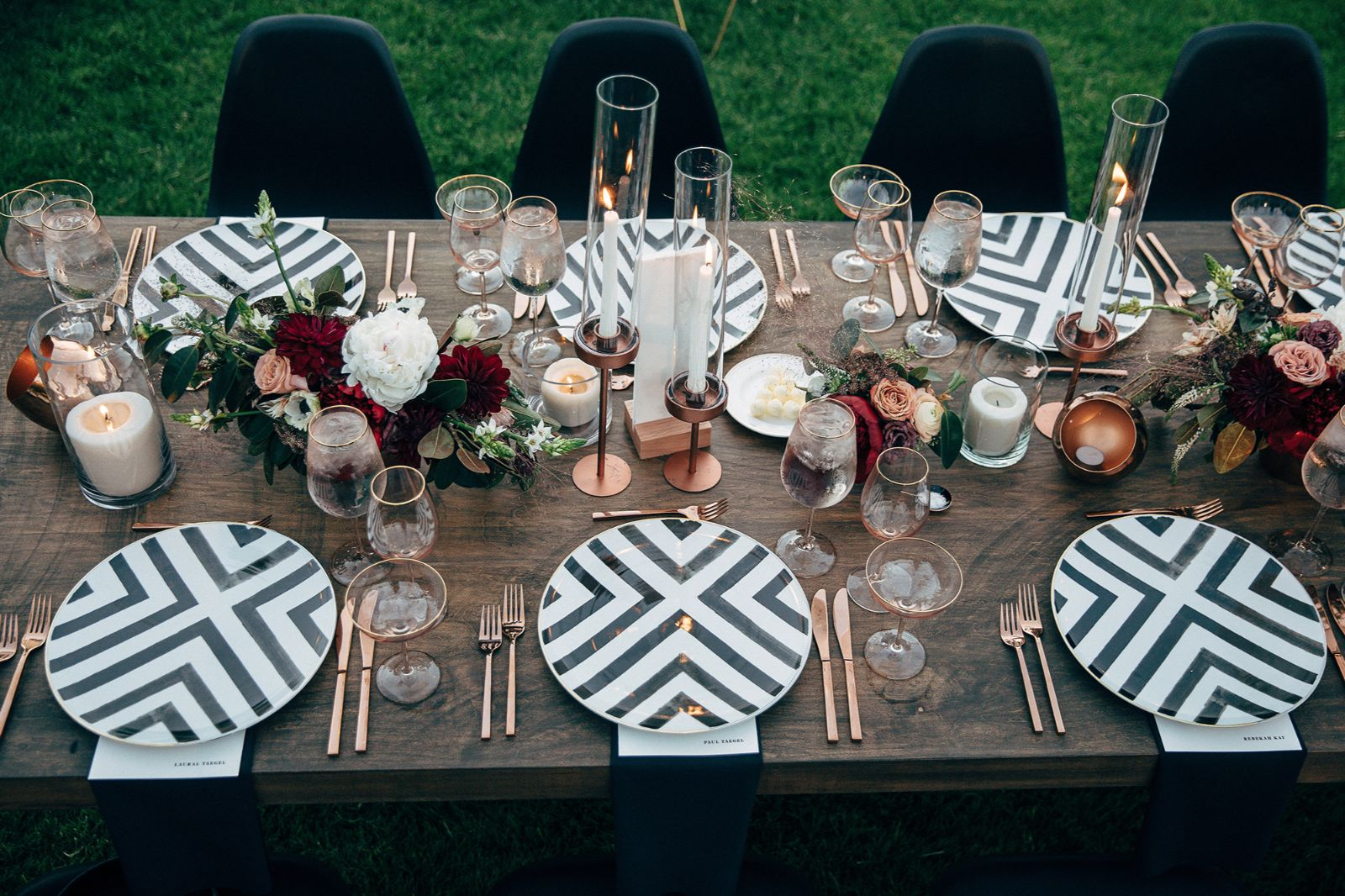 Allison Jeff Coj Events La Wedding Planner