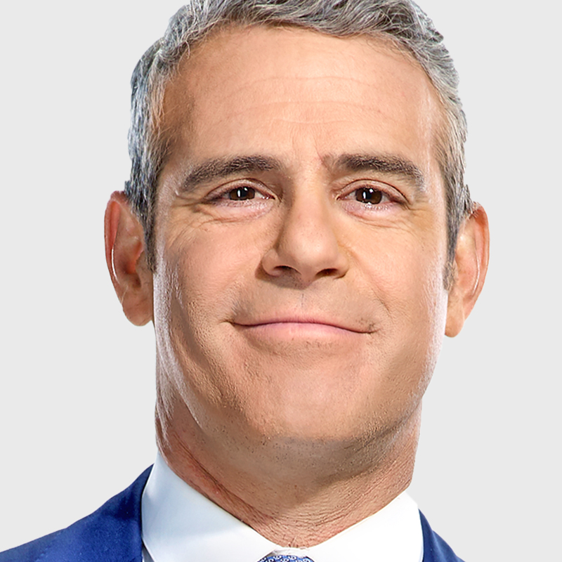 Andy Cohen, he knows all the housewife dirt.