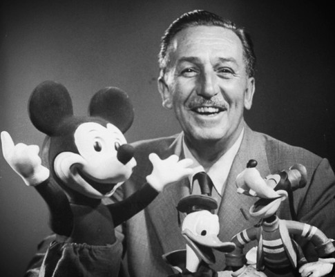 Walt Disney to thank him for creating the happiest place on earth.