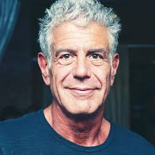 Anthony Bourdain. There is still so much I want to know, learn and find out! He would cook... I'll bake!
