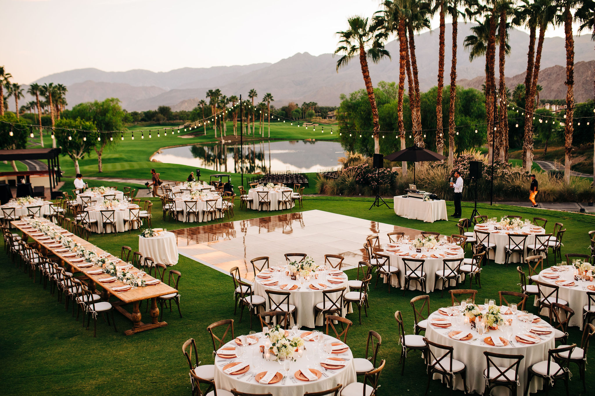 There are so many details to love about this Hideaway Golf Club Wedding.