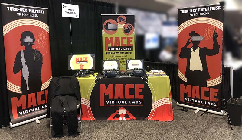 MACE booth