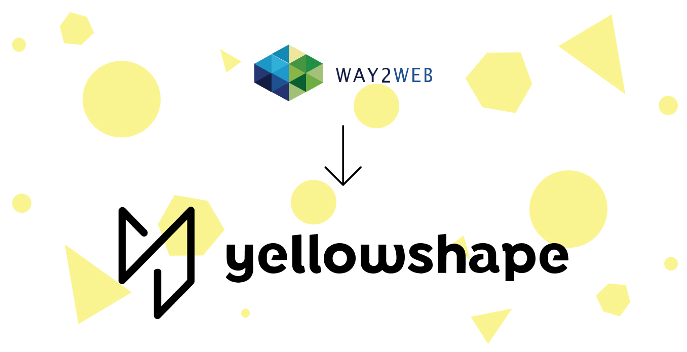 Way2Web naar Yellowshape