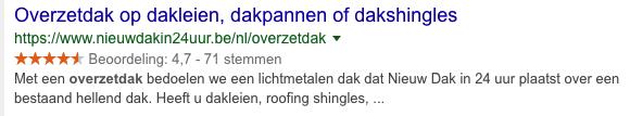 Nieuw dak in 24 uur Reviews