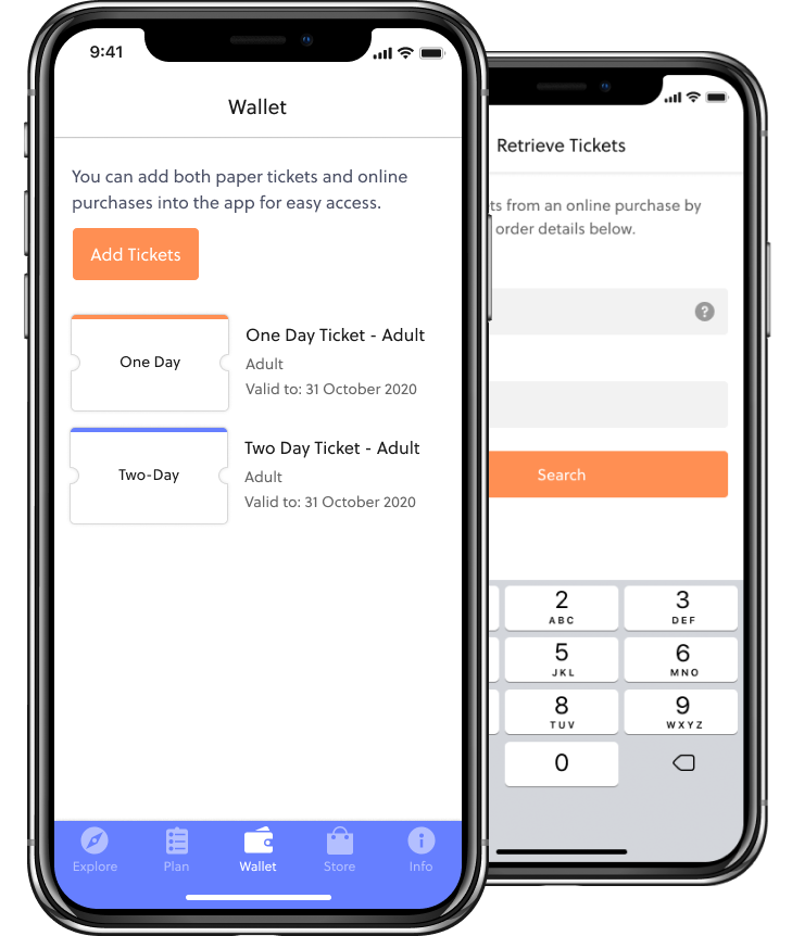 mobile wallet - ticketing solutions