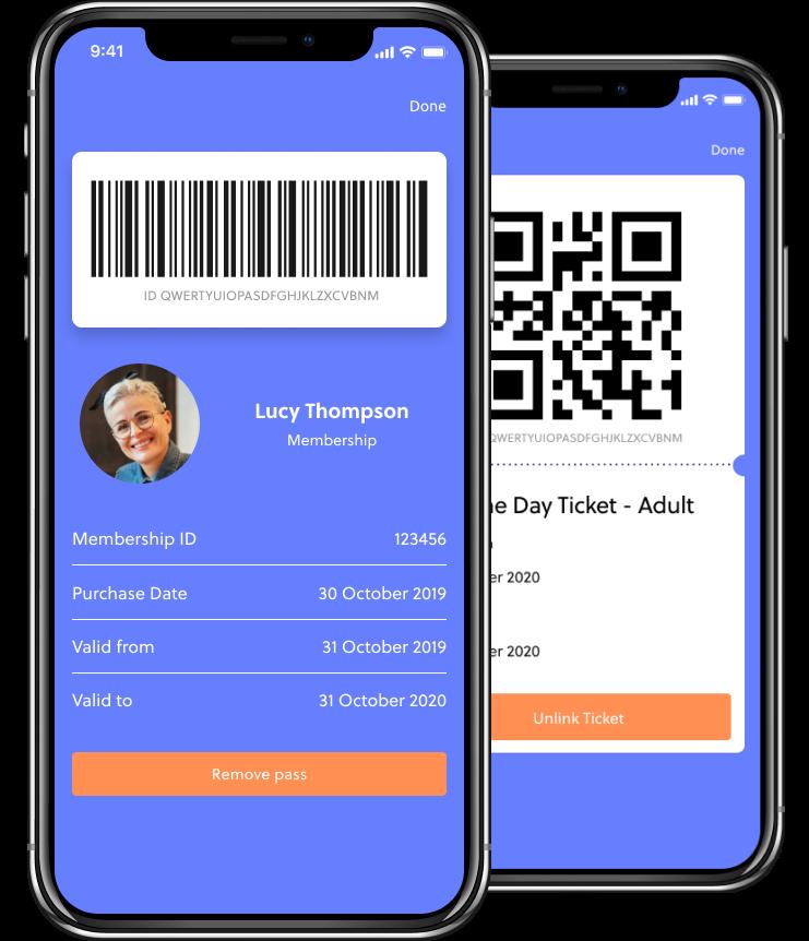 Digital ticketing - social distancing