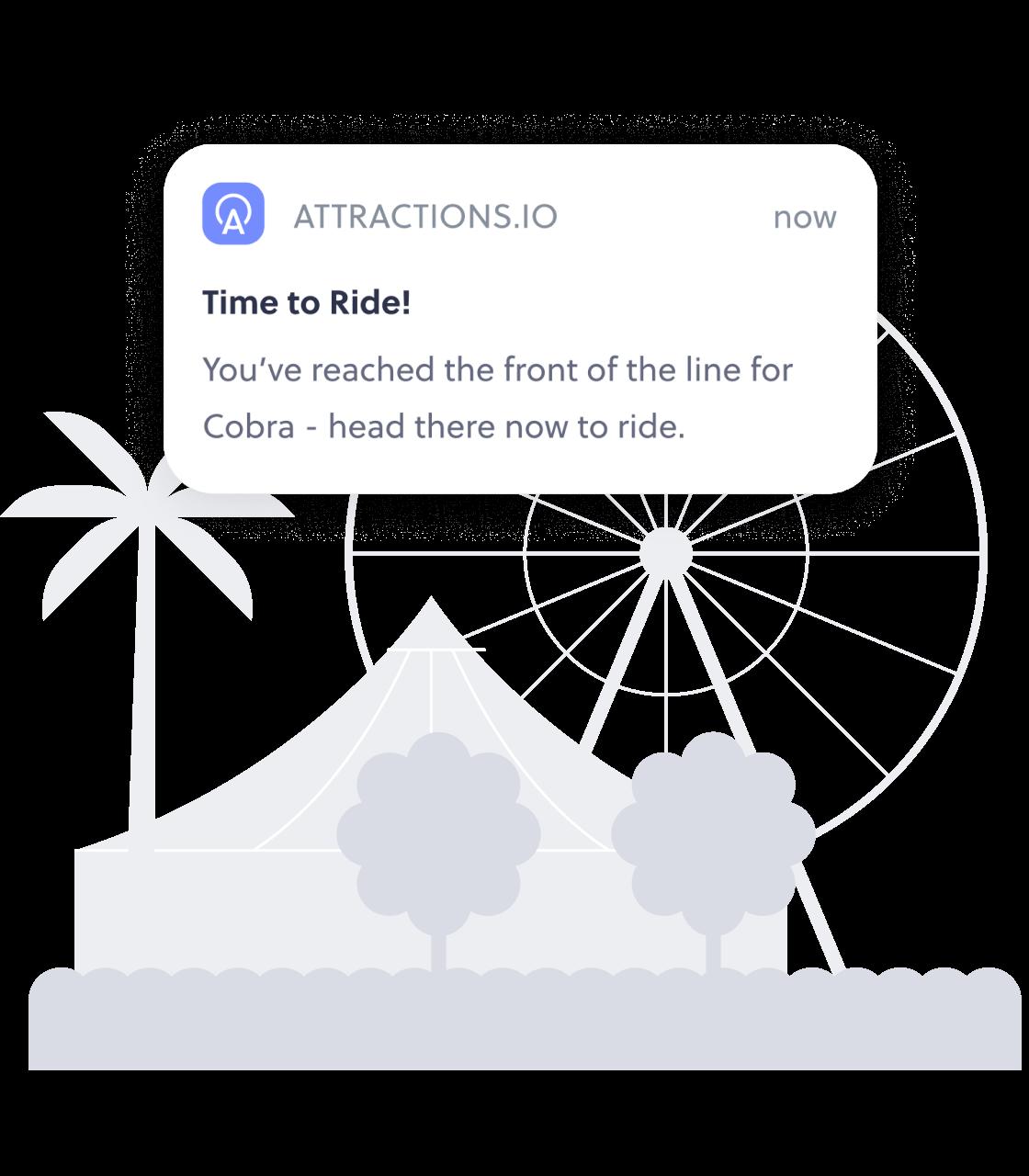 Virtual queue notification