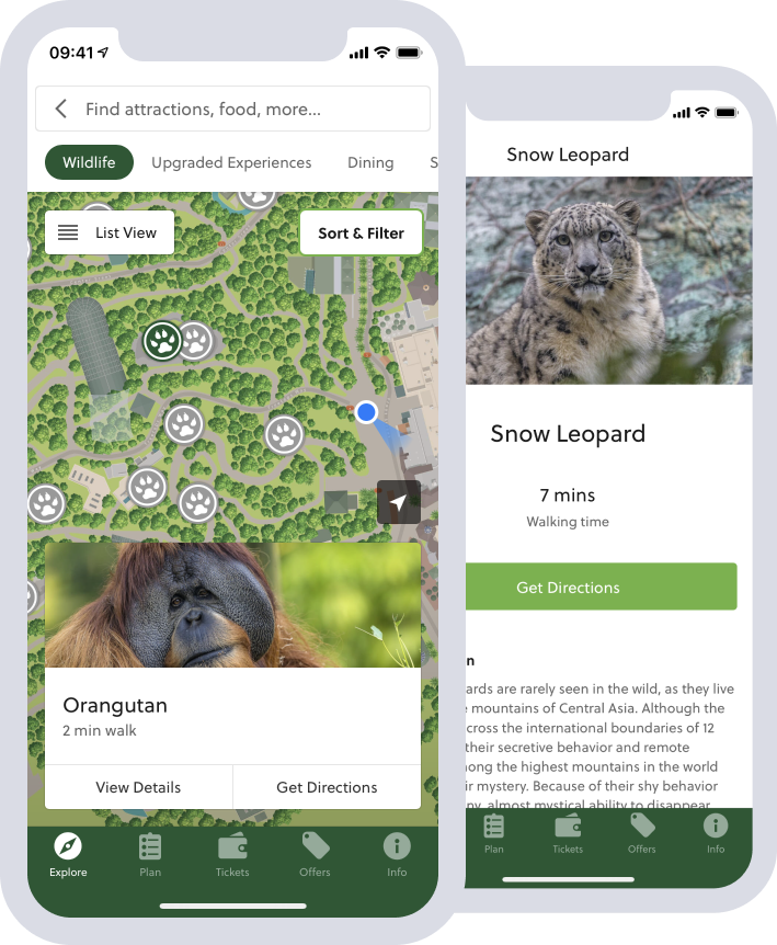 San Diego Zoo App Features