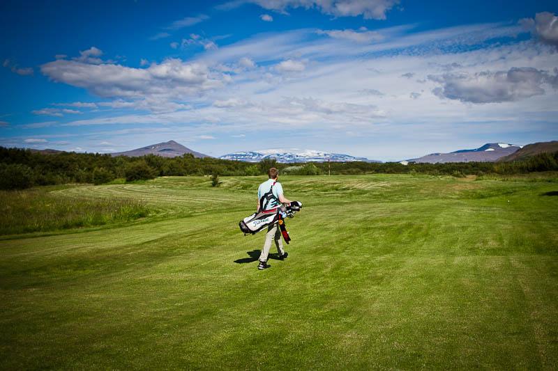 Tilboð 2: Gisting og Golf