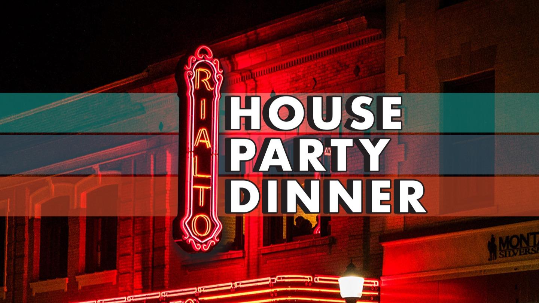 Rialto Friendsgiving House Party Dinner