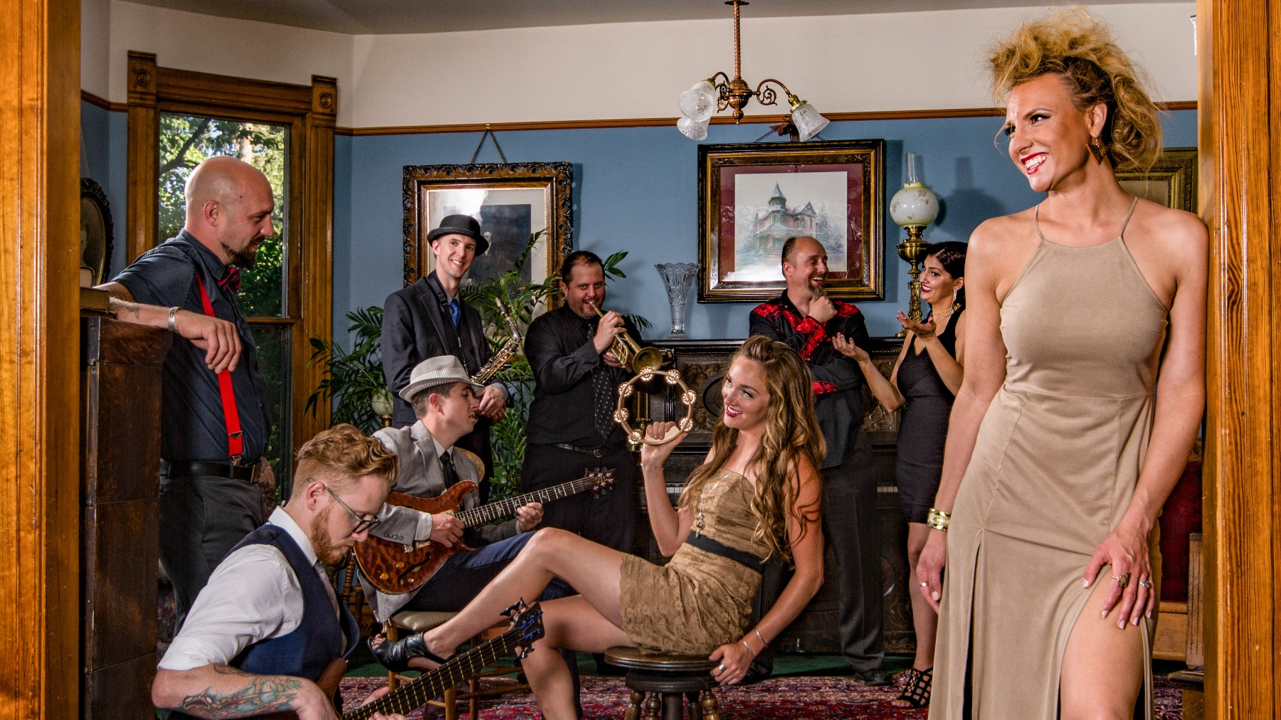 Paige and The People's Band: Leap Day Bash