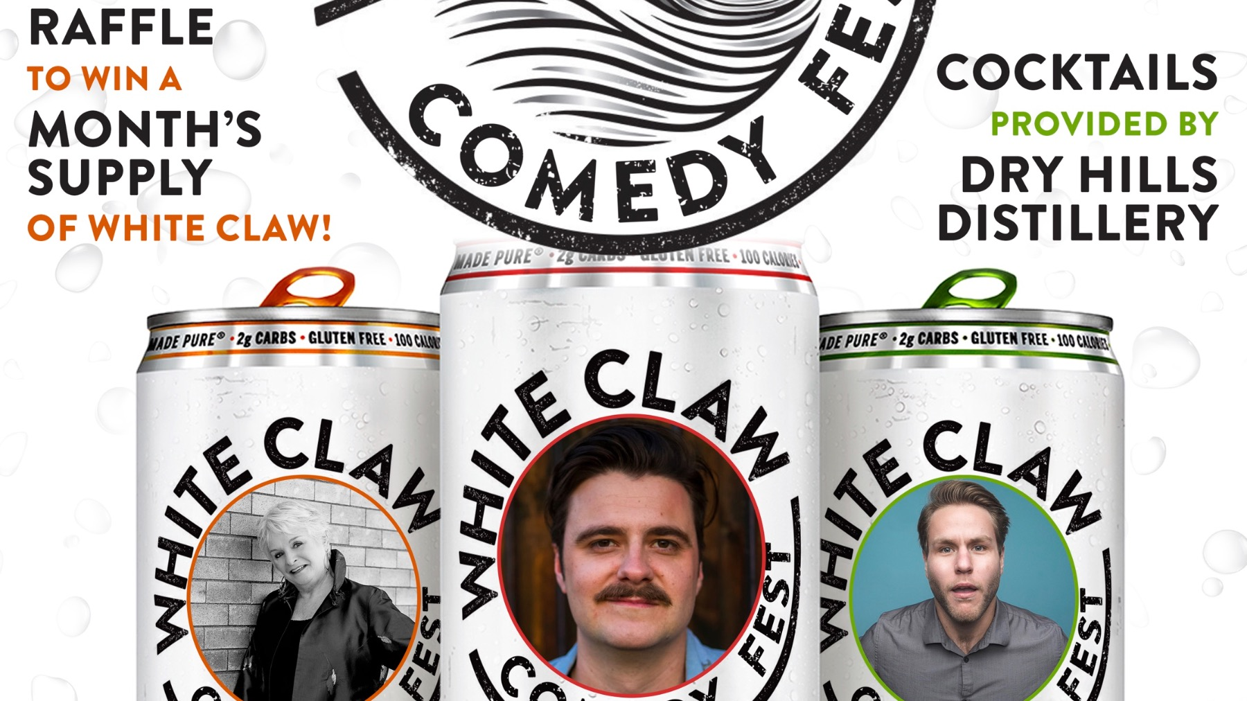The White Claw Comedy Fest w/ Arlo Sanders