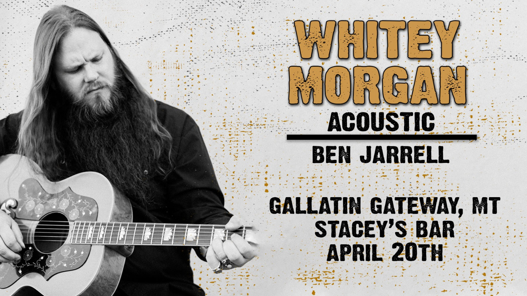 Whitey Morgan at Stacey's!!