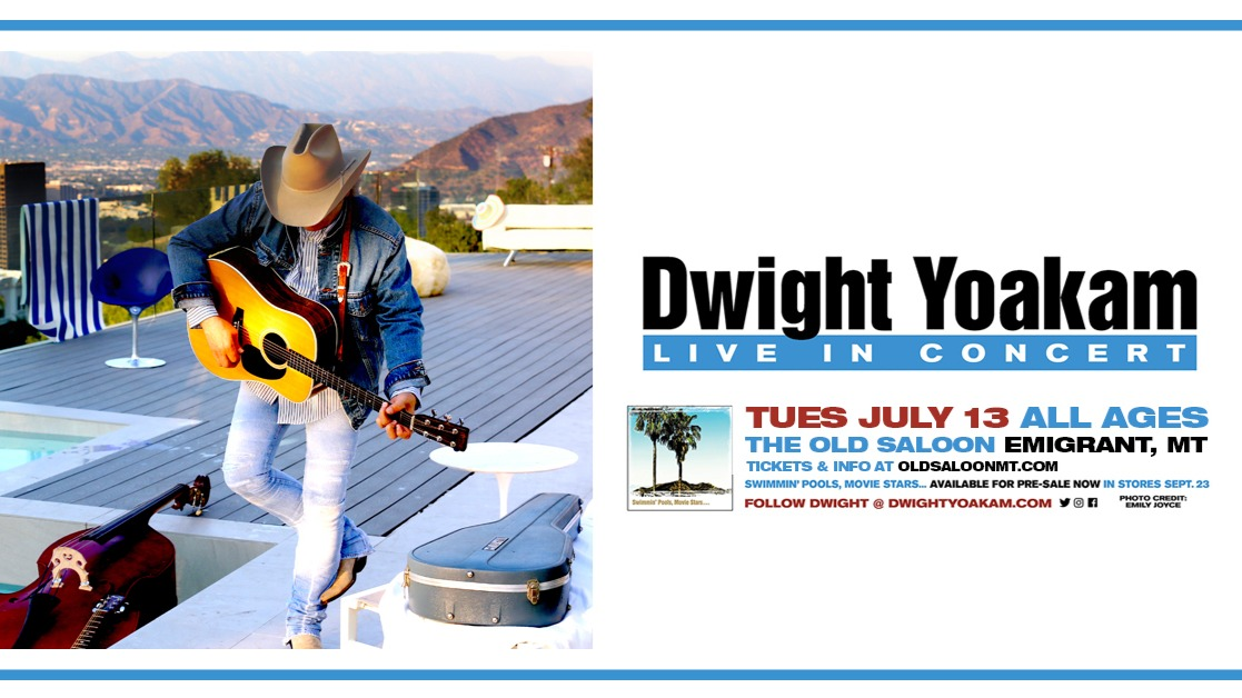 The Legendary Dwight Yoakam at The Old Saloon