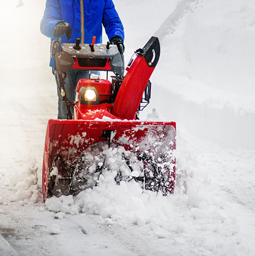 snow removal project in thornton