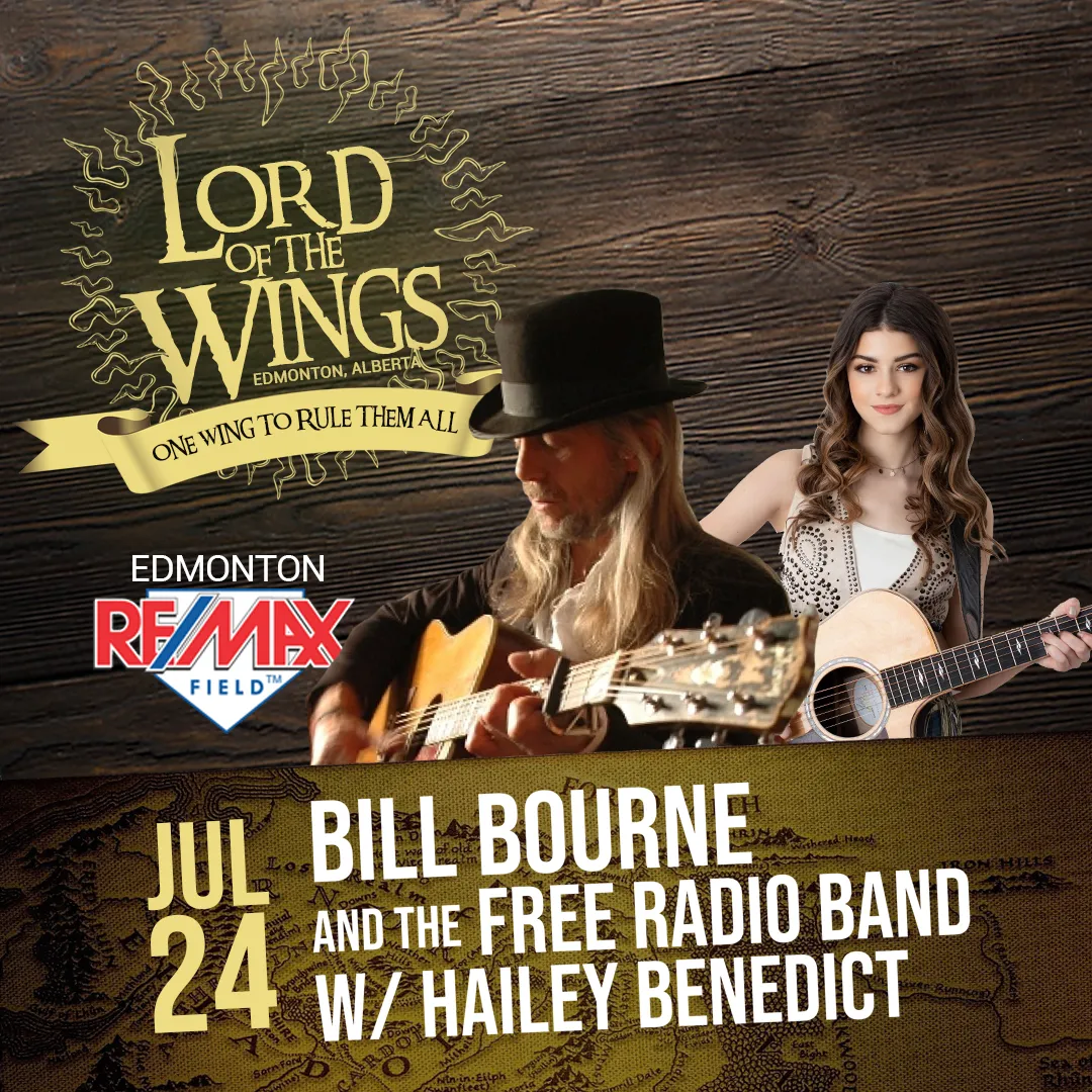 July 24: Bill Bourne and the Free Radio Band W/ Hailey Benedict