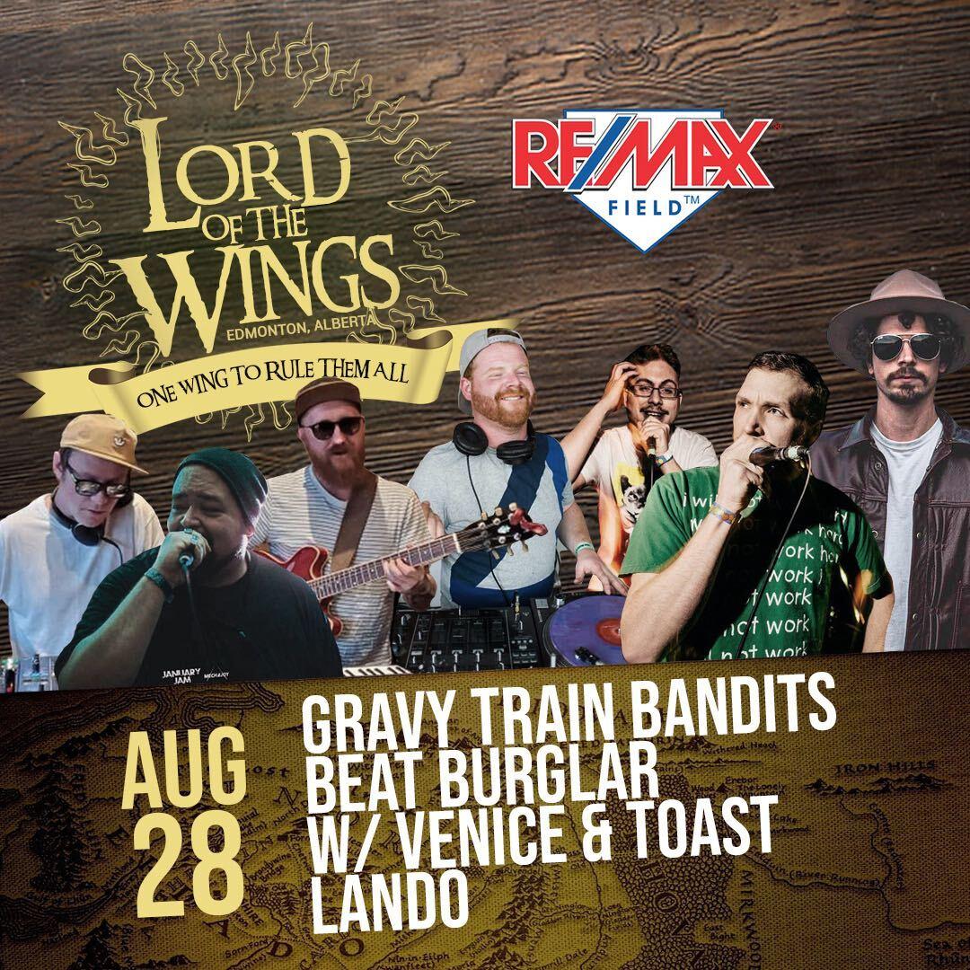 August 28: GTB (live), Lando, Beat Burglar w/ Venice&Toast