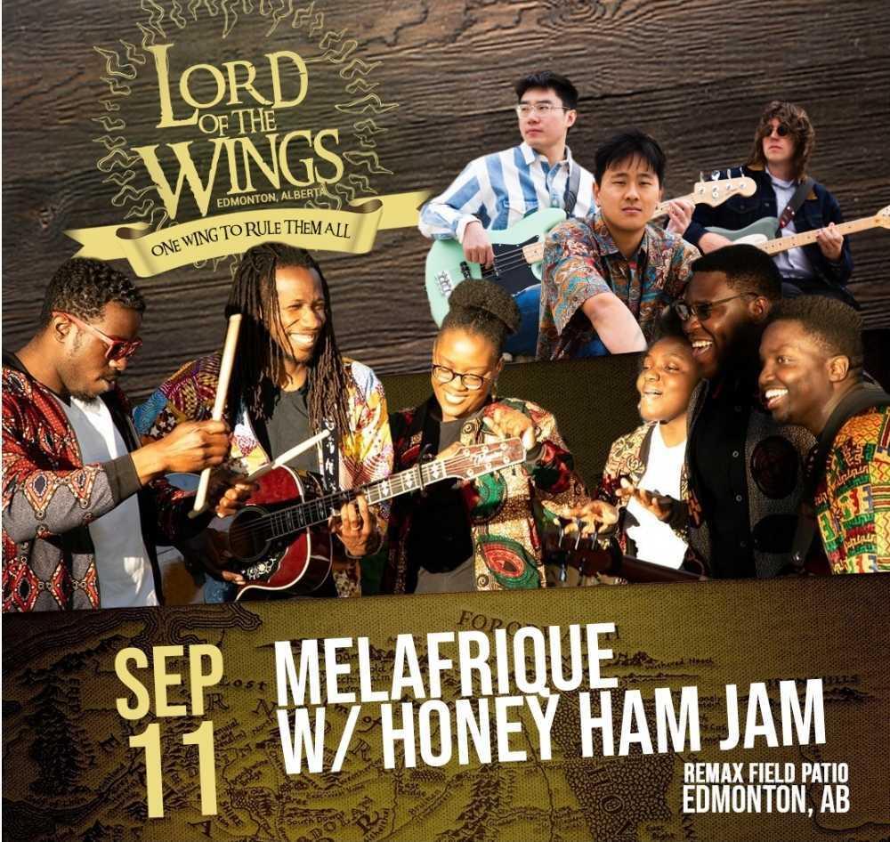 September 11: Melafrique w/ Honey Ham Jam