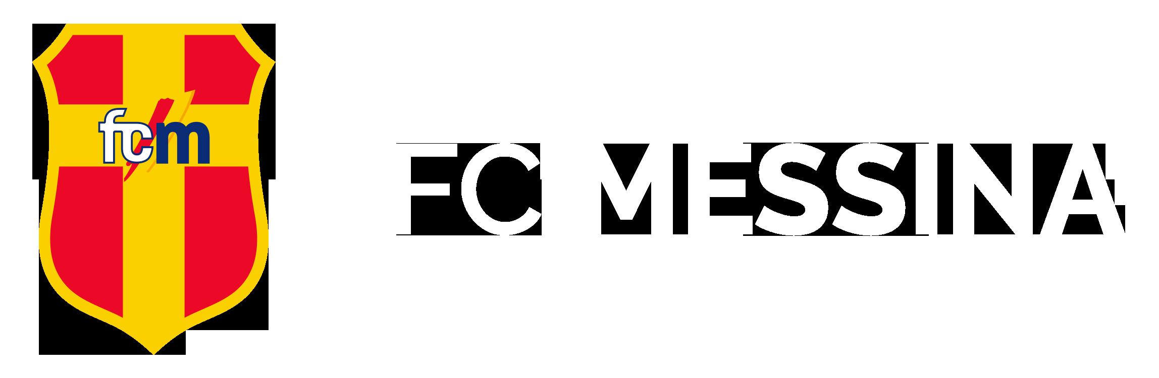 logo Messina FC orizzonatalr