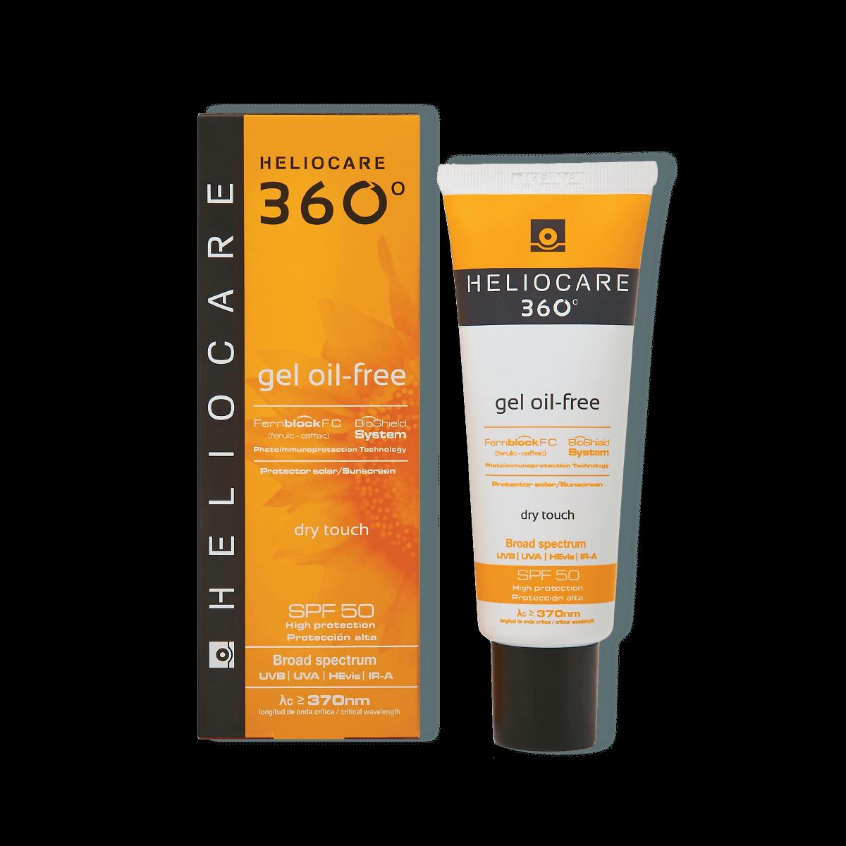 Heliocare 360° Oil Free gel SPF 50 50ml