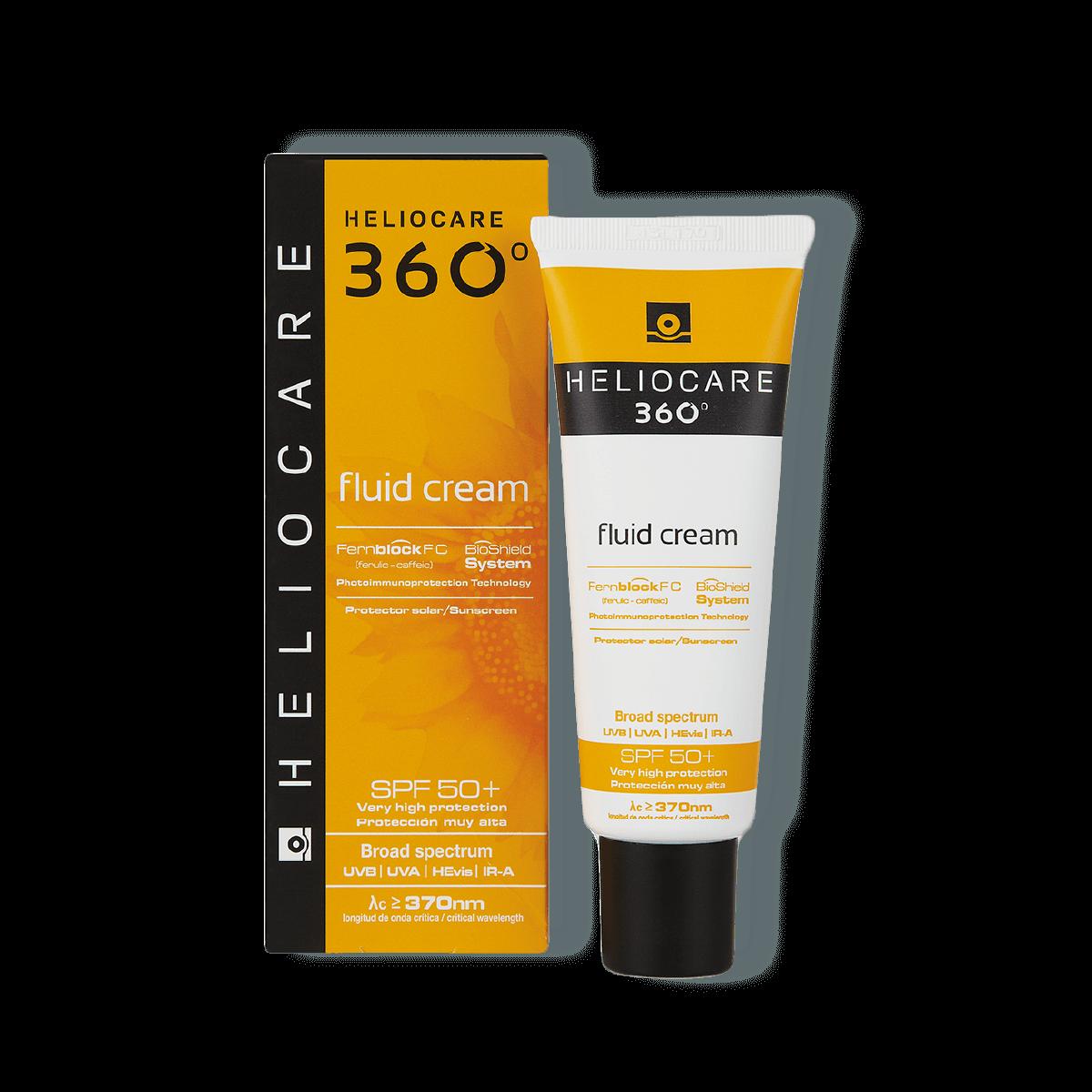 Heliocare 360 Fluid Cream SPF 50+ 50ml