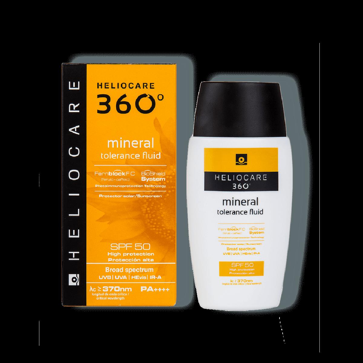 Heliocare 360° Mineral Tolerance Fluid SPF 50 50ml