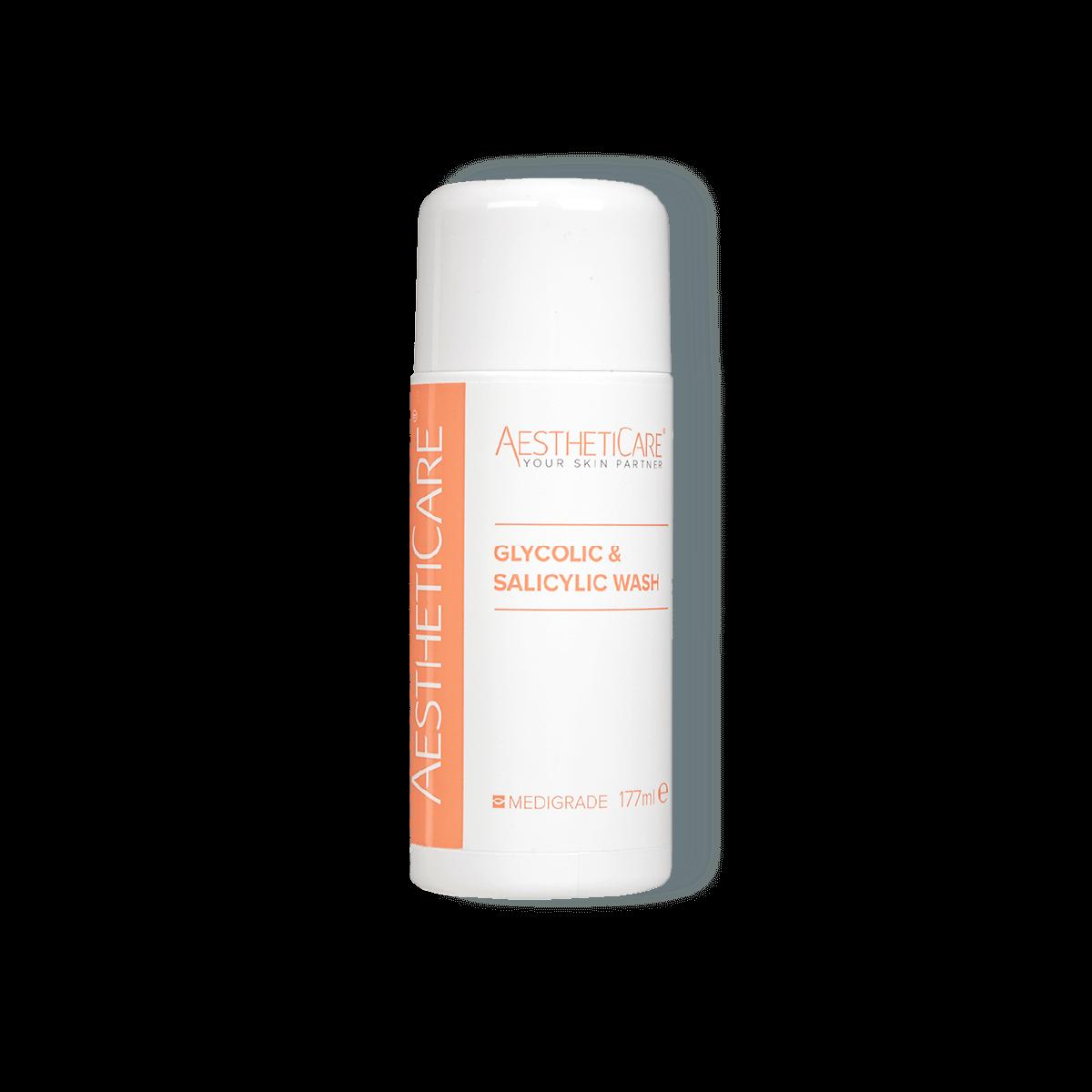 Aestheticare Glycolic and Salicylic Wash 177ml