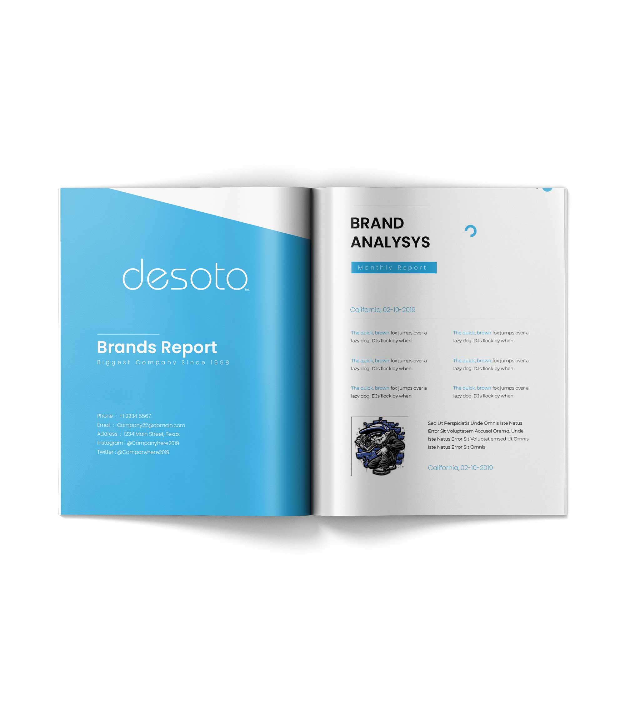 Brand analysis by DeSoto LLC